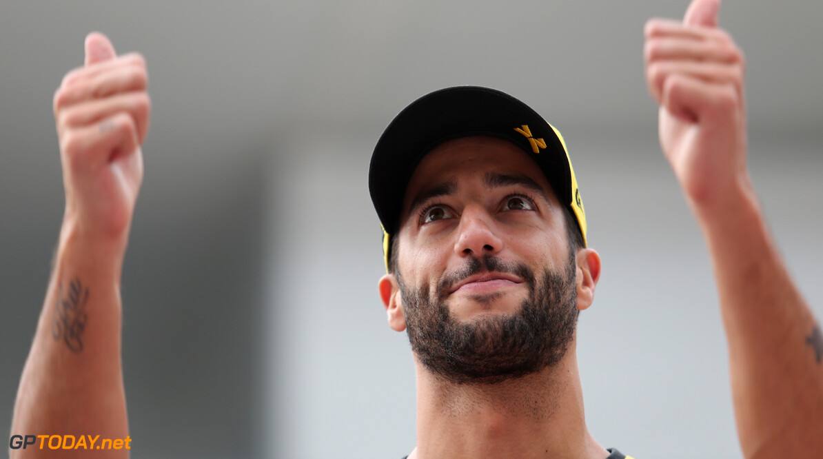 Formula One World Championship Daniel Ricciardo (AUS), Renault F1 Team  10.10.2019. Formula 1 World Championship, Rd 17, Japanese Grand Prix, Suzuka, Japan, Preparation Day. - www.xpbimages.com, EMail: requests@xpbimages.com - copy of publication required for printed pictures. Every used picture is fee-liable. (C) Copyright: Charniaux / XPB Images Motor Racing - Formula One World Championship - Japanese Grand Prix - Preparation Day - Suzuka, Japan XPB Images Suzuka Japan  Formel1 Formel F1 Formula 1 Formula1 GP Grand Prix one Suzuka Circuit Thursday Portrait Japan Japanese October 10 2019
