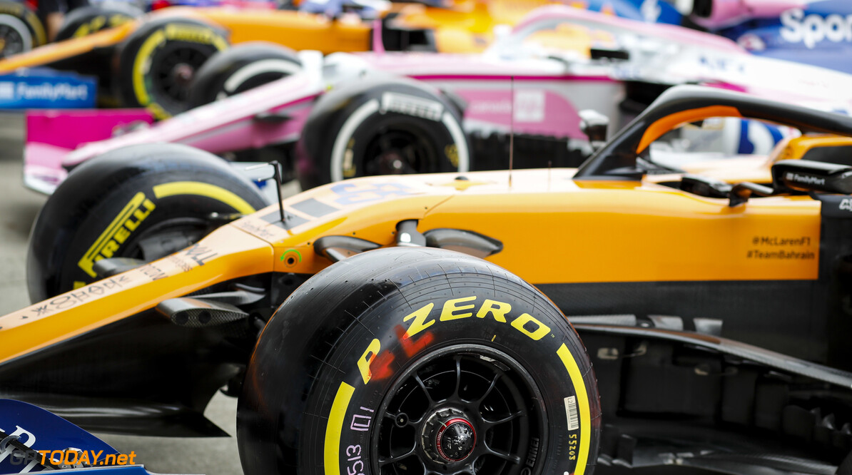 2019 Japanese GP SUZUKA, JAPAN - OCTOBER 10: Car of Carlos Sainz Jr., McLaren MCL34 during the Japanese GP at Suzuka on October 10, 2019 in Suzuka, Japan. (Photo by Steven Tee / LAT Images) 2019 Japanese GP Steven Tee  Japan
