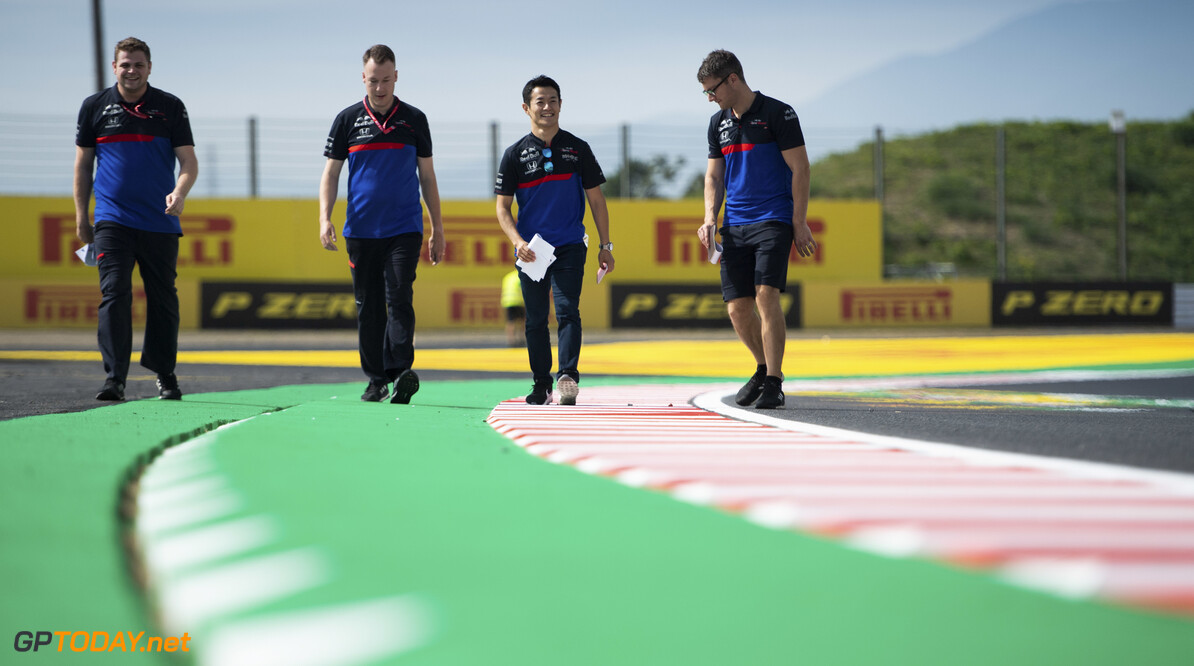 2019 Japanese GP SUZUKA, JAPAN - OCTOBER 10: Naoki Yamamoto, Toro Rosso walks the track during the Japanese GP at Suzuka on October 10, 2019 in Suzuka, Japan. (Photo by Simon Galloway / LAT Images) 2019 Japanese GP Simon Galloway  Japan  Portrait