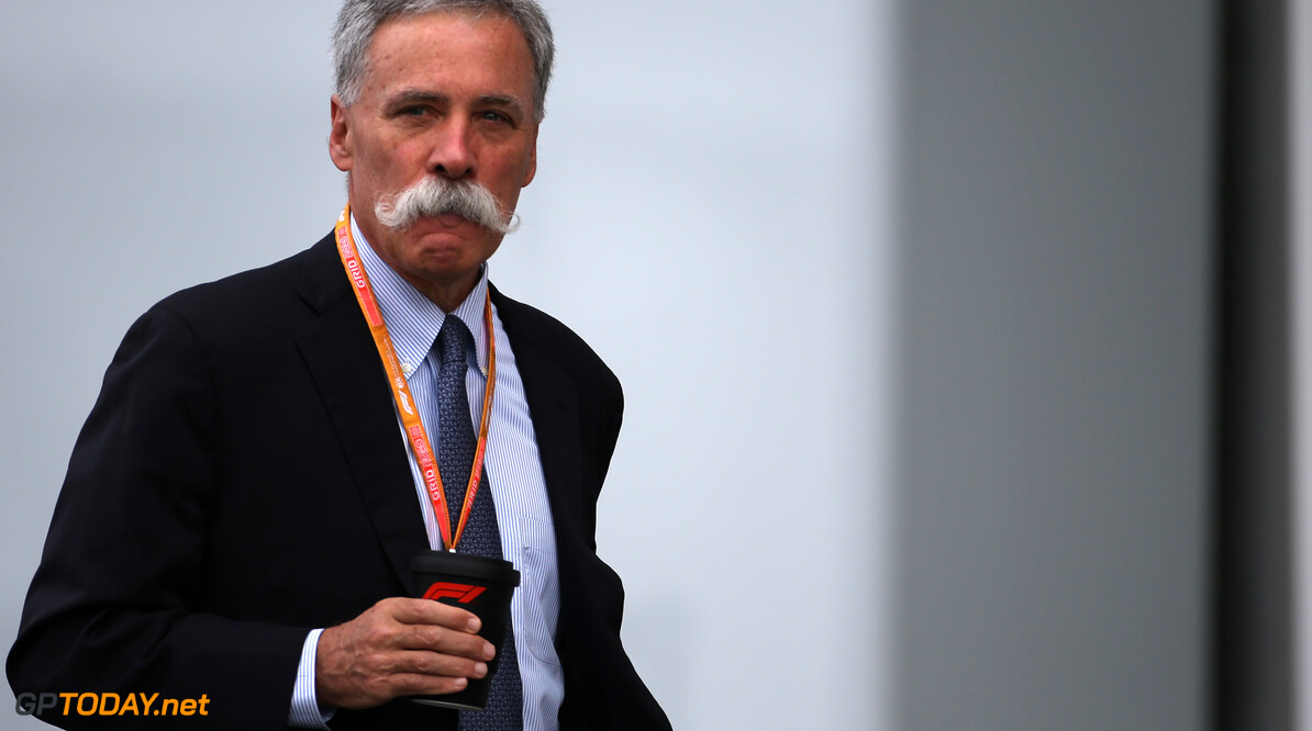 Formula One World Championship Chase Carey (US), Liberty Media  11.10.2019. Formula 1 World Championship, Rd 17, Japanese Grand Prix, Suzuka, Japan, Practice Day. - www.xpbimages.com, EMail: requests@xpbimages.com - copy of publication required for printed pictures. Every used picture is fee-liable. (C) Copyright: Charniaux / XPB Images Motor Racing - Formula One World Championship - Japanese Grand Prix - Practice Day - Suzuka, Japan XPB Images Suzuka Japan  Formel1 Formel F1 Formula 1 Formula1 GP Grand Prix one Suzuka Circuit Japan Japanese Friday October 11 10 2019 Portrait