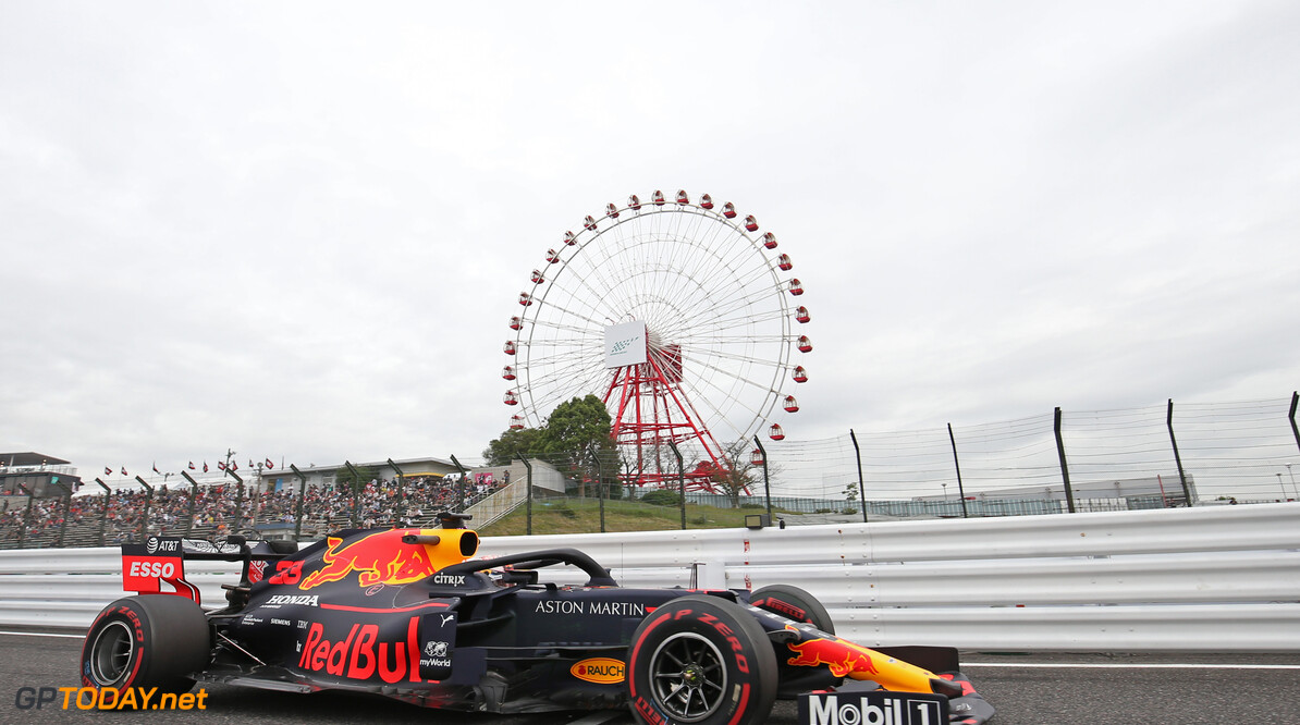 Formula One World Championship Max Verstappen (NLD), Red Bull Racing  11.10.2019. Formula 1 World Championship, Rd 17, Japanese Grand Prix, Suzuka, Japan, Practice Day. - www.xpbimages.com, EMail: requests@xpbimages.com - copy of publication required for printed pictures. Every used picture is fee-liable. (C) Copyright: Charniaux / XPB Images Motor Racing - Formula One World Championship - Japanese Grand Prix - Practice Day - Suzuka, Japan XPB Images Suzuka Japan  Formel1 Formel F1 Formula 1 Formula1 GP Grand Prix one Suzuka Circuit Japan Japanese Friday October 11 10 2019 Action Track