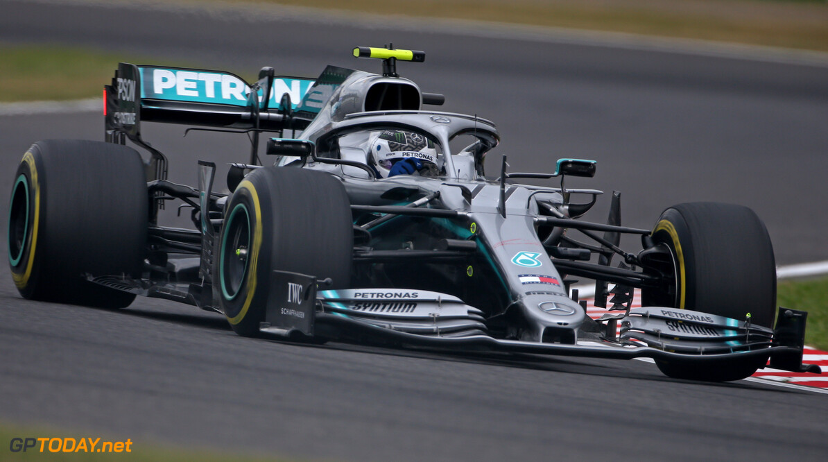 Formula One World Championship Valtteri Bottas (FIN), Mercedes AMG F1  11.10.2019. Formula 1 World Championship, Rd 17, Japanese Grand Prix, Suzuka, Japan, Practice Day. - www.xpbimages.com, EMail: requests@xpbimages.com - copy of publication required for printed pictures. Every used picture is fee-liable. (C) Copyright: Charniaux / XPB Images Motor Racing - Formula One World Championship - Japanese Grand Prix - Practice Day - Suzuka, Japan XPB Images Suzuka Japan  Formel1 Formel F1 Formula 1 Formula1 GP Grand Prix one Suzuka Circuit Japan Japanese Friday October 11 10 2019 Action Track