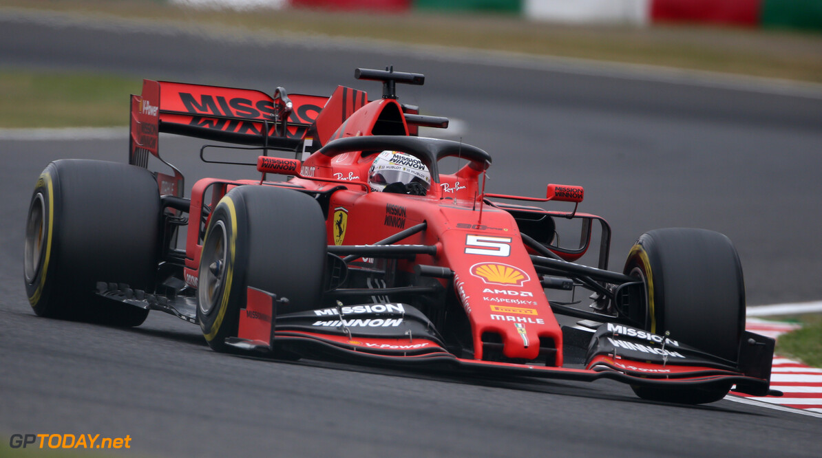 <strong>Qualifying:</strong>  Vettel beats Leclerc to pole in Suzuka