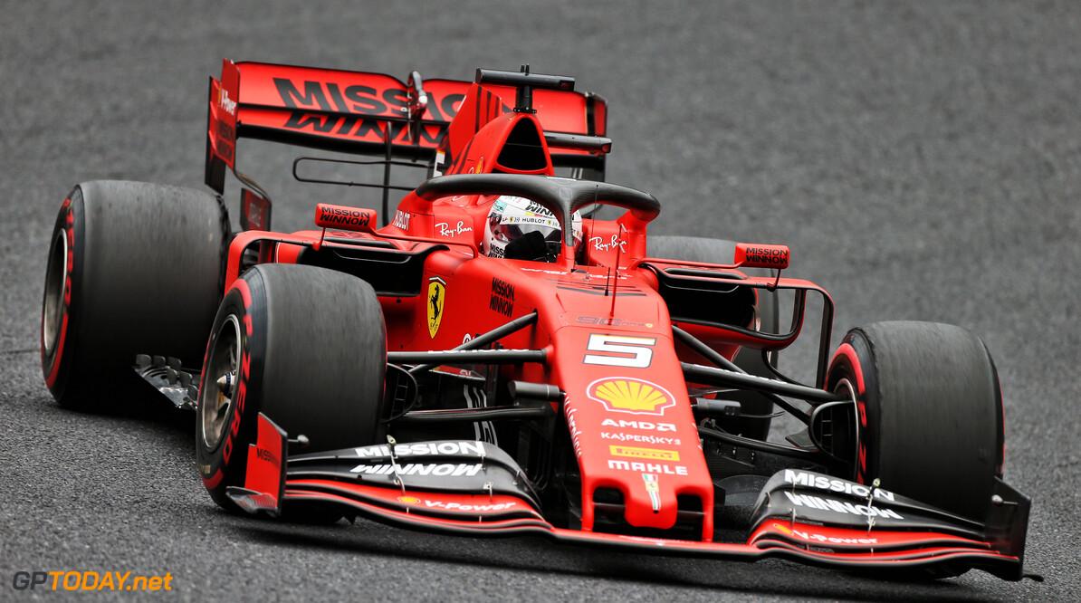 <b>Kwalificatie</b>: Pole voor Sebastian Vettel in Japan, Max Verstappen vijfde
