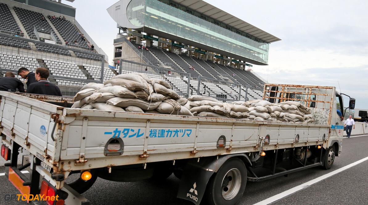 Schade door tyfoon Hagibis lijkt mee te vallen in Suzuka