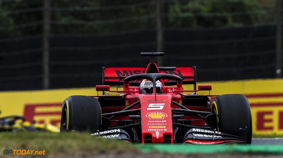 RUDY CAREZZEVOLI@CALLO ALBANESE    11/10/2019 F1/2019 FP2 GIAPPONE GP VENERDI VETTEL