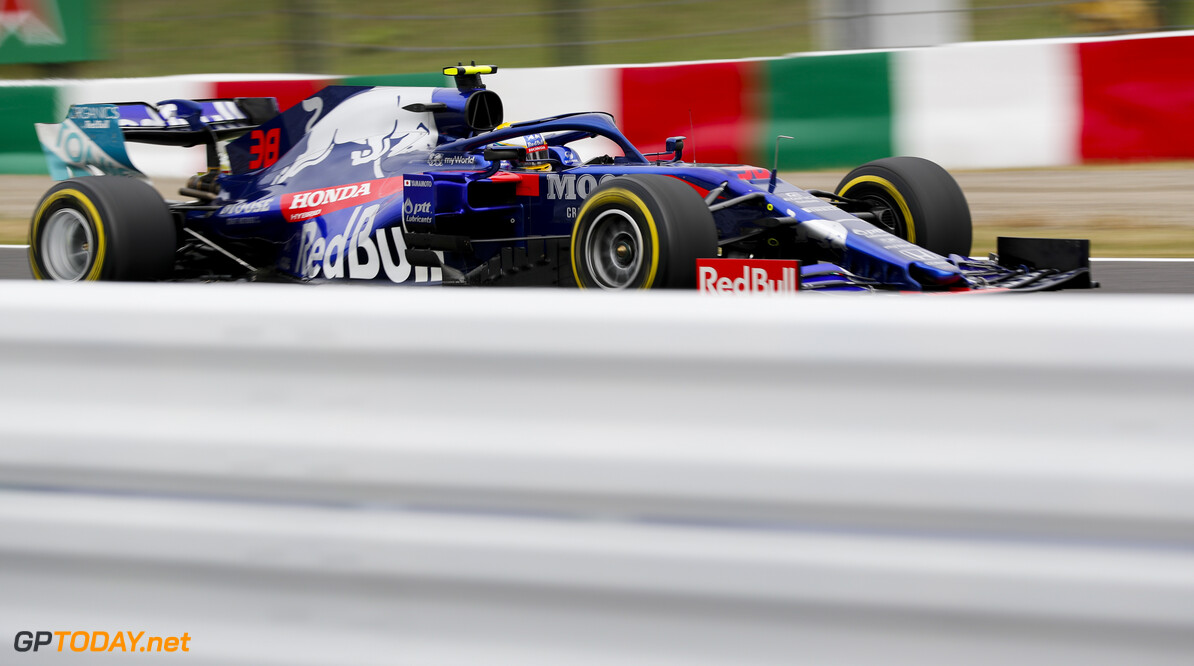 2019 Japanese GP SUZUKA, JAPAN - OCTOBER 11: Naoki Yamamoto, Toro Rosso STR14 during the Japanese GP at Suzuka on October 11, 2019 in Suzuka, Japan. (Photo by Steven Tee / LAT Images) 2019 Japanese GP Steven Tee  Japan  action ts-live