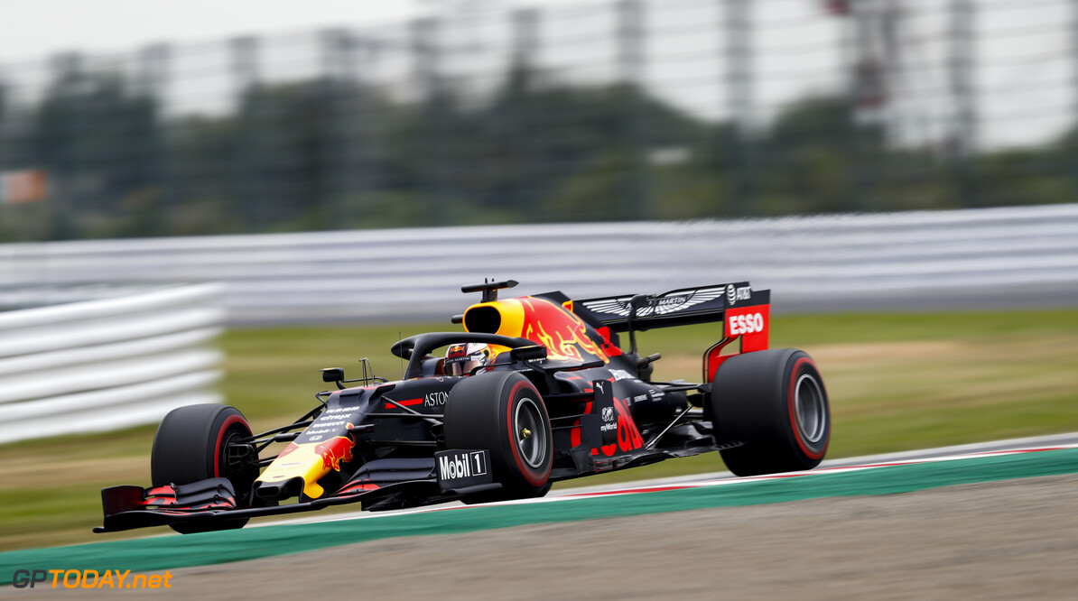 2019 Japanese GP SUZUKA, JAPAN - OCTOBER 11: Max Verstappen, Red Bull Racing RB15 during the Japanese GP at Suzuka on October 11, 2019 in Suzuka, Japan. (Photo by Glenn Dunbar / LAT Images) 2019 Japanese GP Glenn Dunbar  Japan  action blur ts-live