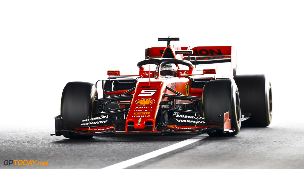 2019 Japanese GP SUZUKA, JAPAN - OCTOBER 11: Sebastian Vettel, Ferrari SF90 during the Japanese GP at Suzuka on October 11, 2019 in Suzuka, Japan. (Photo by Glenn Dunbar / LAT Images) 2019 Japanese GP Glenn Dunbar  Japan  action ts-live