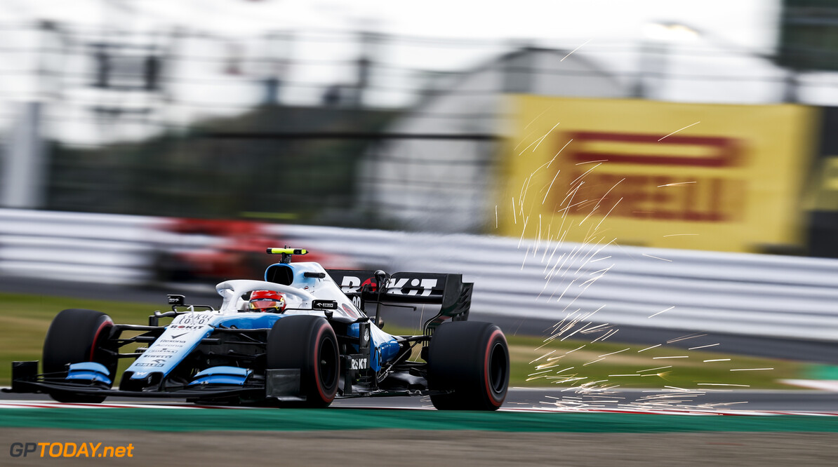 2019 Japanese GP SUZUKA, JAPAN - OCTOBER 11: Robert Kubica, Williams FW42 during the Japanese GP at Suzuka on October 11, 2019 in Suzuka, Japan. (Photo by Glenn Dunbar / LAT Images) 2019 Japanese GP Glenn Dunbar  Japan  action blur sparks ts-live