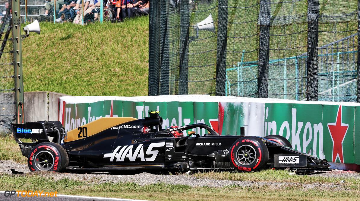 Magnussen: Embarrasing qualifying crash showed everyone 'what not to do'