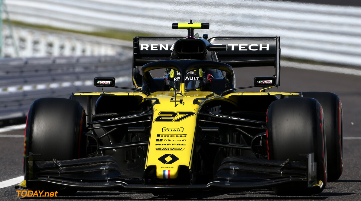 Formula One World Championship Nico Hulkenberg (GER), Renault Sport F1 Team  13.10.2019. Formula 1 World Championship, Rd 17, Japanese Grand Prix, Suzuka, Japan, Race Day. Sunday qualifying  - www.xpbimages.com, EMail: requests@xpbimages.com - copy of publication required for printed pictures. Every used picture is fee-liable. (C) Copyright: Charniaux / XPB Images Motor Racing - Formula One World Championship - Japanese Grand Prix - Race Day - Suzuka, Japan XPB Images Suzuka Japan  Formel1 Formel F1 Formula 1 Formula1 GP Grand Prix one Suzuka Circuit Japan Japanese Sunday October 13 10 2019 Portrait