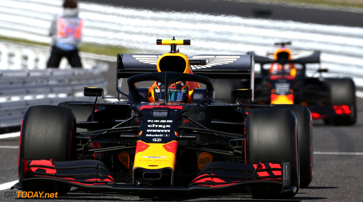 Formula One World Championship Alexander Albon (THA), Red Bull Racing  13.10.2019. Formula 1 World Championship, Rd 17, Japanese Grand Prix, Suzuka, Japan, Race Day. Sunday qualifying  - www.xpbimages.com, EMail: requests@xpbimages.com - copy of publication required for printed pictures. Every used picture is fee-liable. (C) Copyright: Charniaux / XPB Images Motor Racing - Formula One World Championship - Japanese Grand Prix - Race Day - Suzuka, Japan XPB Images Suzuka Japan  Formel1 Formel F1 Formula 1 Formula1 GP Grand Prix one Suzuka Circuit Japan Japanese Sunday October 13 10 2019 Portrait