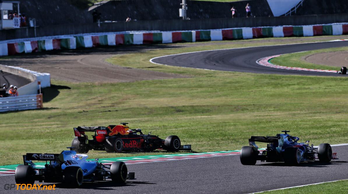 Verstappen unhappy with 'irresponsible' Leclerc after Suzuka crash