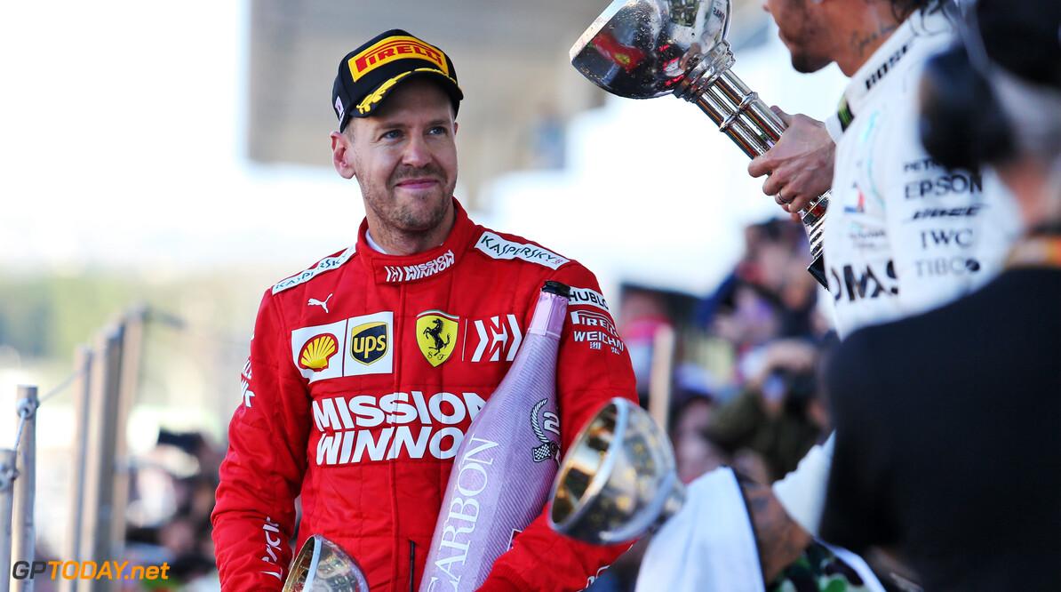 """Sebastian Vettel: """"Ferrari moet in laatste races 2019 momentum opbouwen voor 2020"""""""