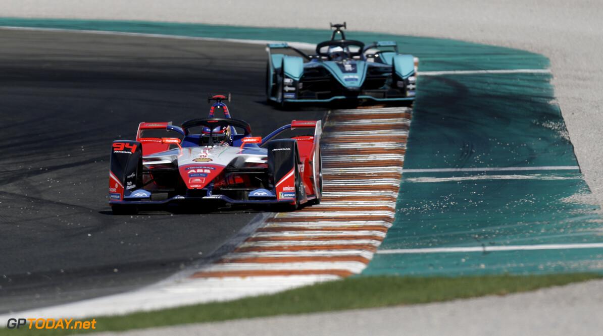 Pascal Wehrlein (DEU), Mahindra Racing, M6Electro   Joe Portlock    action