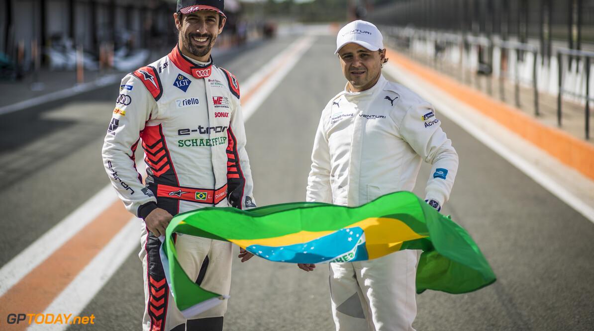 Brazilian Lucas Di Grassi (BRA), Audi Sport ABT Schaeffler and Felipe Massa (BRA), Venturi    Sam Bloxham    portrait