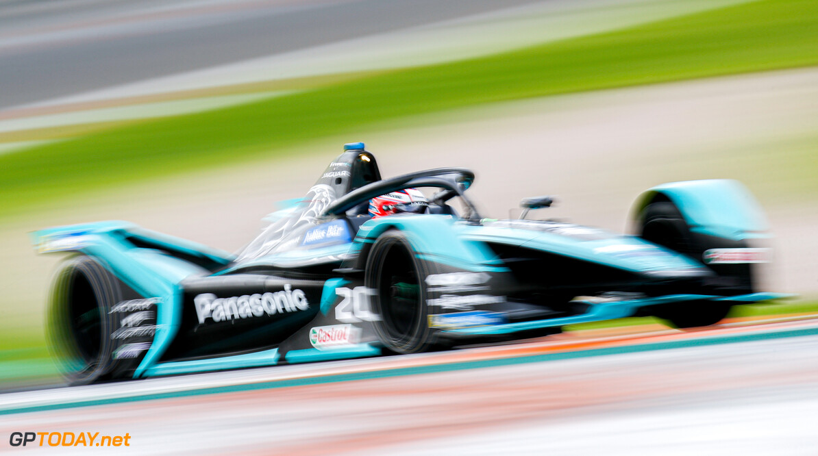 Mitch Evans (NZL), Panasonic Jaguar Racing, Jaguar I-Type 4   Joe Portlock    action blur