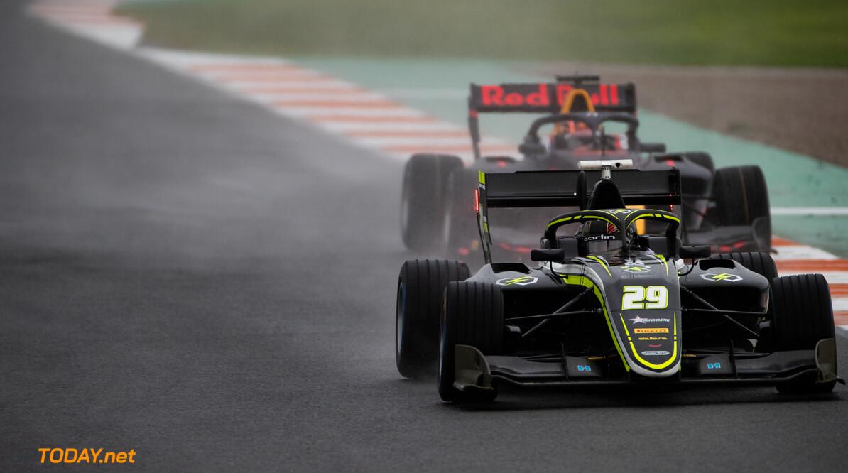 FIA Formula 3 OCTOBER 20: Dan Ticktum (GBR, Carlin Buzz Racing) during the Valencia Test on October 20, 2019. (Photo by Joe Portlock) FIA Formula 3 Joe Portlock    FIA Formula 3 F3 Formula 3 FIA F3