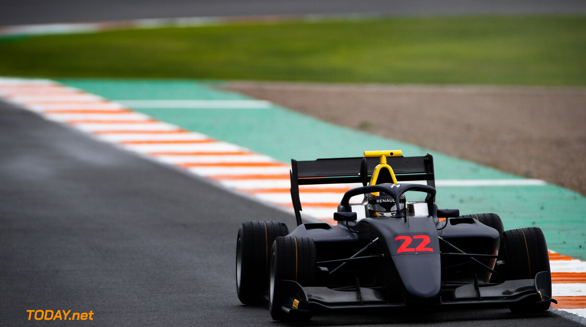 FIA Formula 3 OCTOBER 20: Max Fewtrell (GBR, Hitech Grand Prix) during the Valencia Test on October 20, 2019. (Photo by Joe Portlock) FIA Formula 3 Joe Portlock    FIA Formula 3 F3 Formula 3 FIA F3