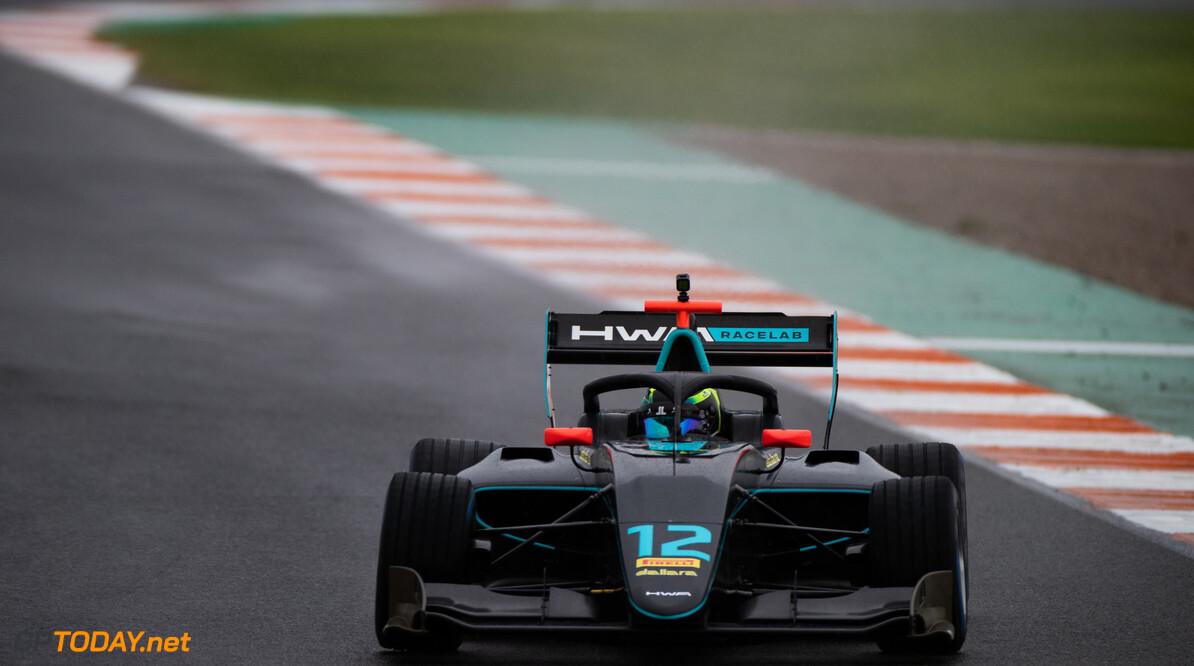 FIA Formula 3 OCTOBER 20: Linus Lundqvist (SWE, HWA RACELAB) during the Valencia Test on October 20, 2019. (Photo by Joe Portlock) FIA Formula 3 Joe Portlock    FIA Formula 3 F3 Formula 3 FIA F3