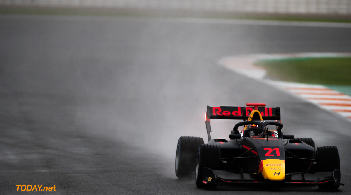 FIA Formula 3 OCTOBER 20: Jack Doohan (AUS, Hitech Grand Prix) during the Valencia Test on October 20, 2019. (Photo by Joe Portlock) FIA Formula 3 Joe Portlock    FIA Formula 3 F3 Formula 3 FIA F3