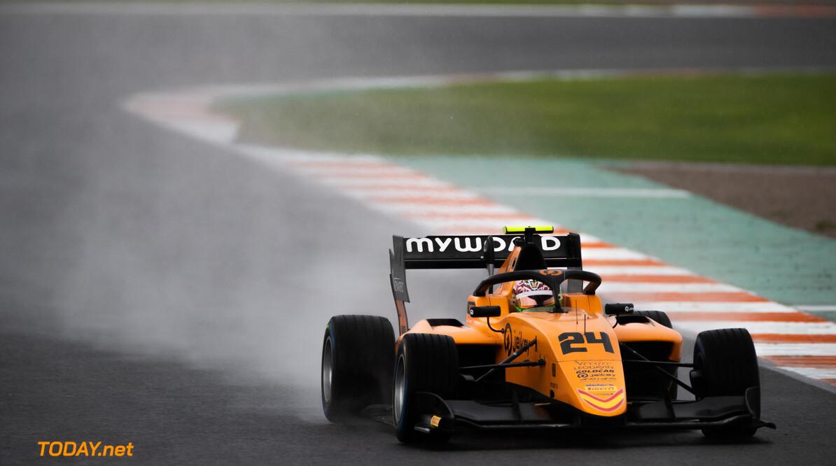 FIA Formula 3 OCTOBER 20: Alessio Deledda (ITA, Campos Racing) during the Valencia Test on October 20, 2019. (Photo by Joe Portlock) FIA Formula 3 Joe Portlock    FIA Formula 3 F3 Formula 3 FIA F3