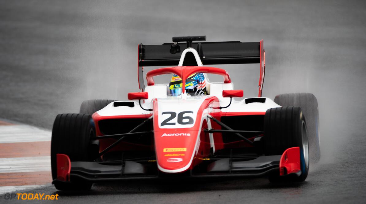 FIA Formula 3 OCTOBER 20: Logan Sargent (USA, PREMA Racing) during the Valencia Test on October 20, 2019. (Photo by Joe Portlock) FIA Formula 3 Joe Portlock    FIA Formula 3 F3 Formula 3 FIA F3