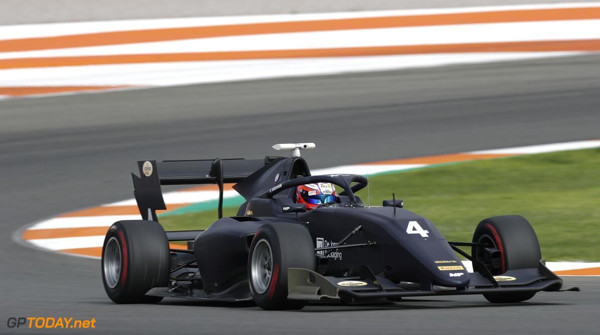 FIA Formula 3 OCTOBER 20: 4 during the Valencia Test on October 20, 2019. (Photo by Joe Portlock) FIA Formula 3 Joe Portlock    FIA Formula 3 F3 Formula 3 FIA F3