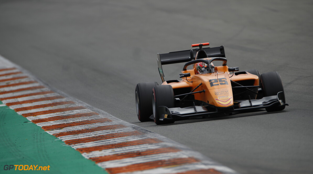 FIA Formula 3 OCTOBER 20: Leonardo Pulcini (ITA, Campos Racing) during the Valencia Test on October 20, 2019. (Photo by Joe Portlock) FIA Formula 3 Joe Portlock    FIA Formula 3 F3 Formula 3 FIA F3
