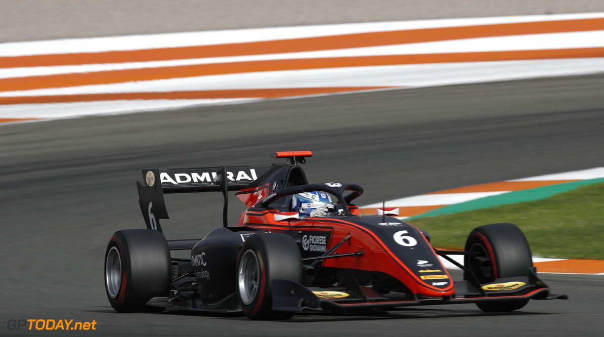 FIA Formula 3 OCTOBER 20: Lukas Dunner (AUT, MP Motorsport) during the Valencia Test on October 20, 2019. (Photo by Joe Portlock) FIA Formula 3 Joe Portlock    FIA Formula 3 F3 Formula 3 FIA F3
