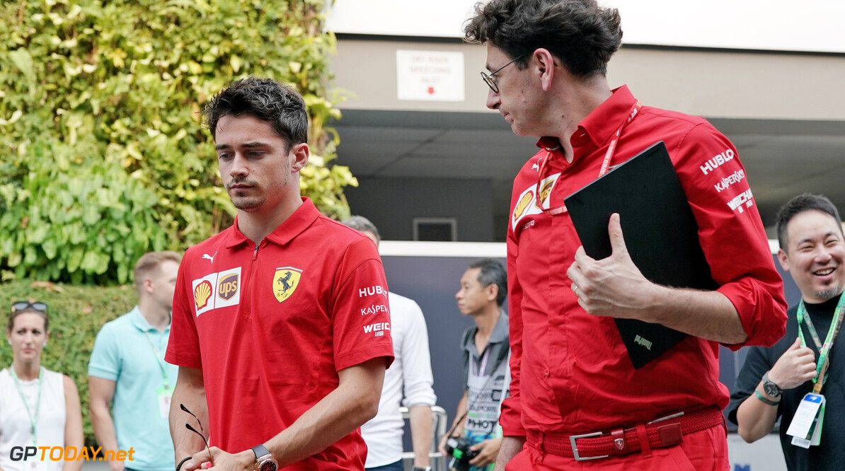 Leclerc: Ferrari can count on 'calm' Binotto