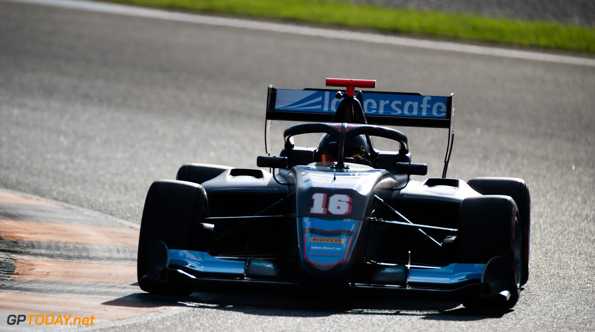 FIA Formula 3 OCTOBER 21: Calan Williams, (AUS, Jenzer Motorsport) during the Valencia Test on October 21, 2019. (Photo by Joe Portlock) FIA Formula 3 Joe Portlock    FIA Formula 3 F3 Formula 3 FIA F3