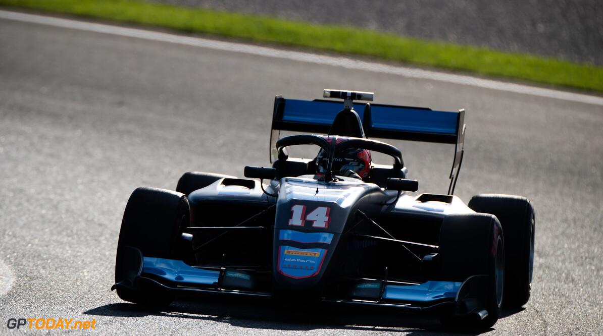 FIA Formula 3 OCTOBER 21: Federico Malvestiti (ITA, Jenzer Motorsport) during the Valencia Test on October 21, 2019. (Photo by Joe Portlock) FIA Formula 3 Joe Portlock    FIA Formula 3 F3 Formula 3 FIA F3