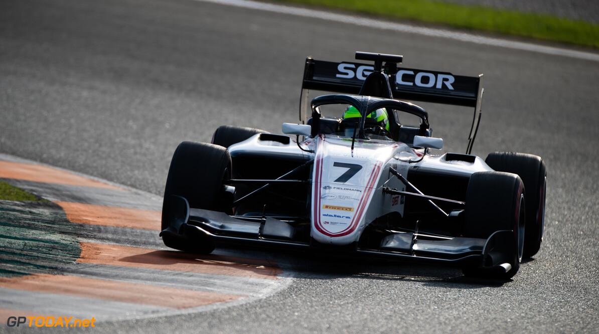 FIA Formula 3 OCTOBER 21: David Schumacher (DEU, Sauber Junior Team by Charouz) during the Valencia Test on October 21, 2019. (Photo by Joe Portlock) FIA Formula 3 Joe Portlock    FIA Formula 3 F3 Formula 3 FIA F3