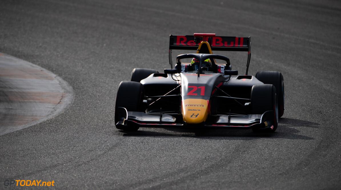FIA Formula 3 OCTOBER 21: Dennis Hauger (NOR, Hitech Grand Prix) during the Valencia Test on October 21, 2019. (Photo by Joe Portlock) FIA Formula 3 Joe Portlock    FIA Formula 3 F3 Formula 3 FIA F3