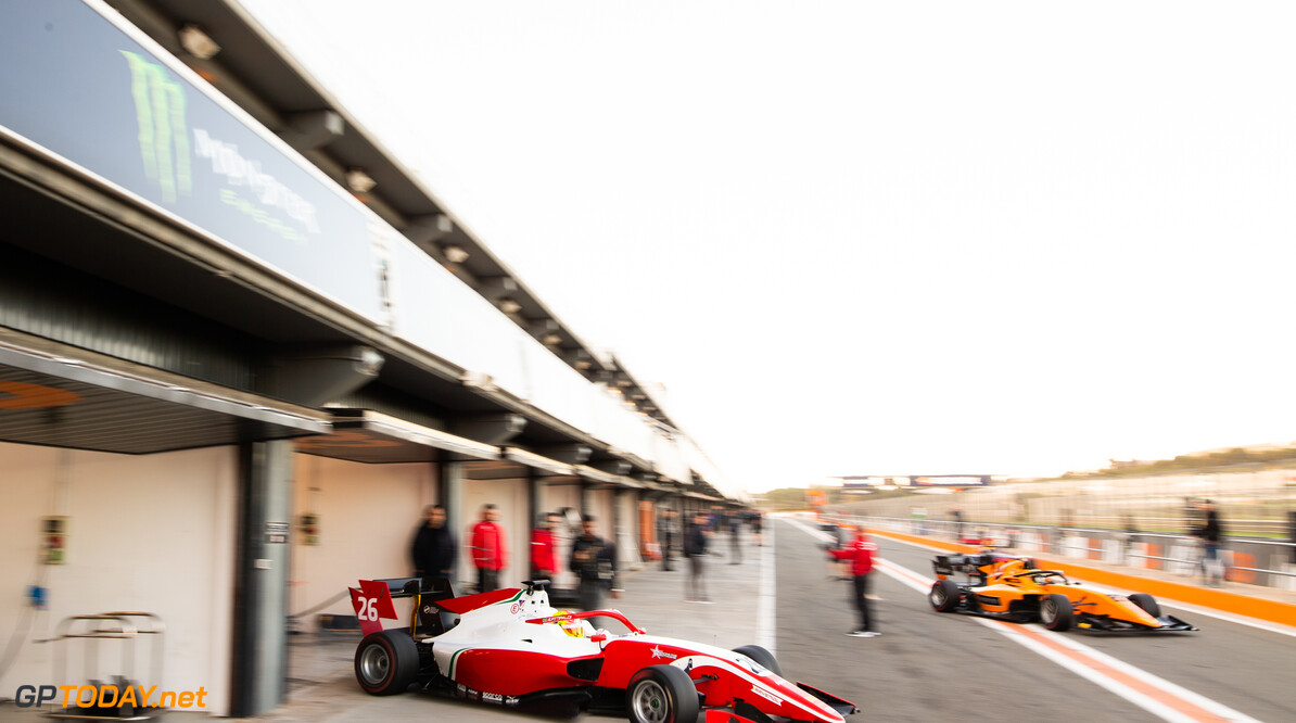 FIA Formula 3 OCTOBER 21: Enzo Fittipaldi (BRA, PREMA Racing) during the Valencia Test on October 21, 2019. (Photo by Joe Portlock) FIA Formula 3 Joe Portlock    FIA Formula 3 F3 Formula 3 FIA F3