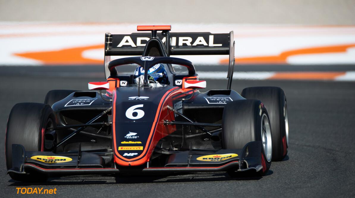 FIA Formula 3 OCTOBER 21: Lukas Dunner (AUT, MP Motorsport)) during the Valencia Test on October 21, 2019. (Photo by Joe Portlock) FIA Formula 3 Joe Portlock    FIA Formula 3 F3 Formula 3 FIA F3