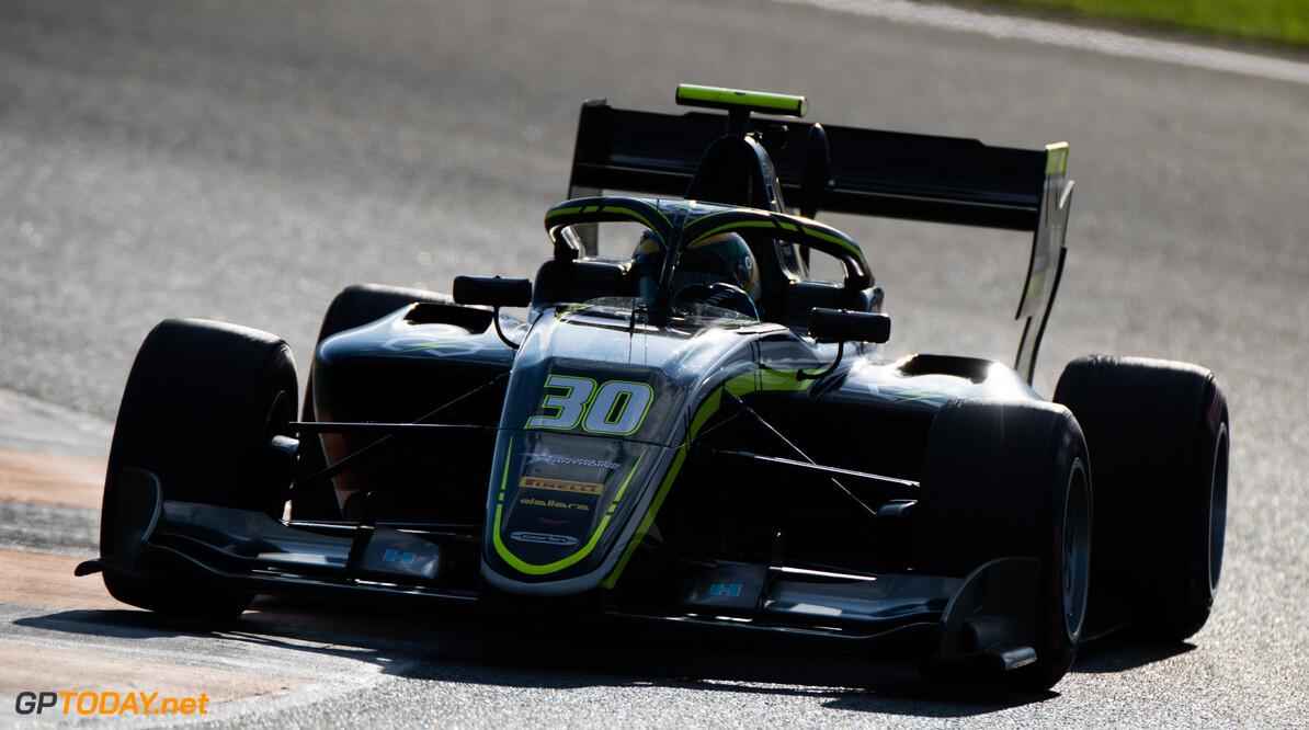 FIA Formula 3 OCTOBER 21: Igor Fraga (BRA, Carlin Buzz Racing) during the Valencia Test on October 21, 2019. (Photo by Joe Portlock) FIA Formula 3 Joe Portlock    FIA Formula 3 F3 Formula 3 FIA F3