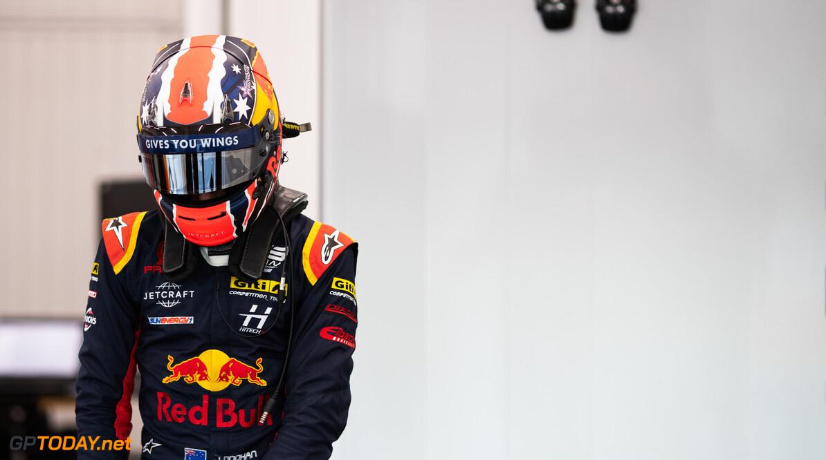 FIA Formula 3 OCTOBER 21: Jack Doohan (AUS, Hitech Grand Prix) during the Valencia Test on October 21, 2019. (Photo by Joe Portlock) FIA Formula 3 Joe Portlock    FIA Formula 3 F3 Formula 3 FIA F3
