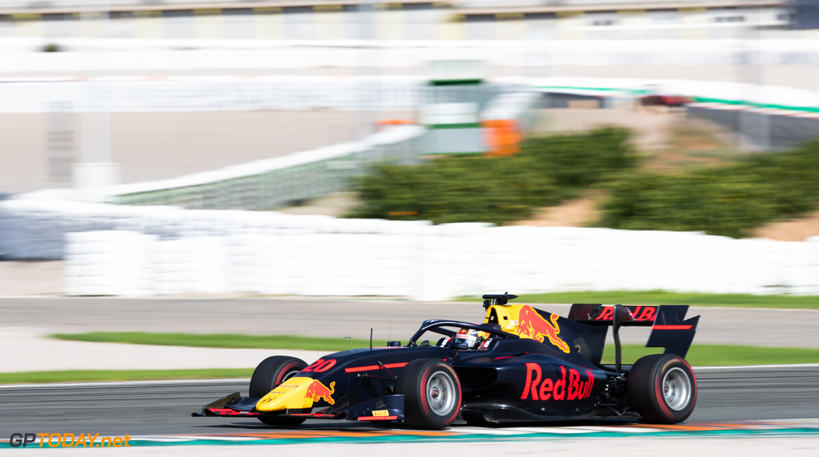 FIA Formula 3 OCTOBER 21: Yuki Tsunoda (JPN, Hitech Grand Prix) during the Valencia Test on October 21, 2019. (Photo by Joe Portlock) FIA Formula 3 Joe Portlock    FIA Formula 3 F3 Formula 3 FIA F3