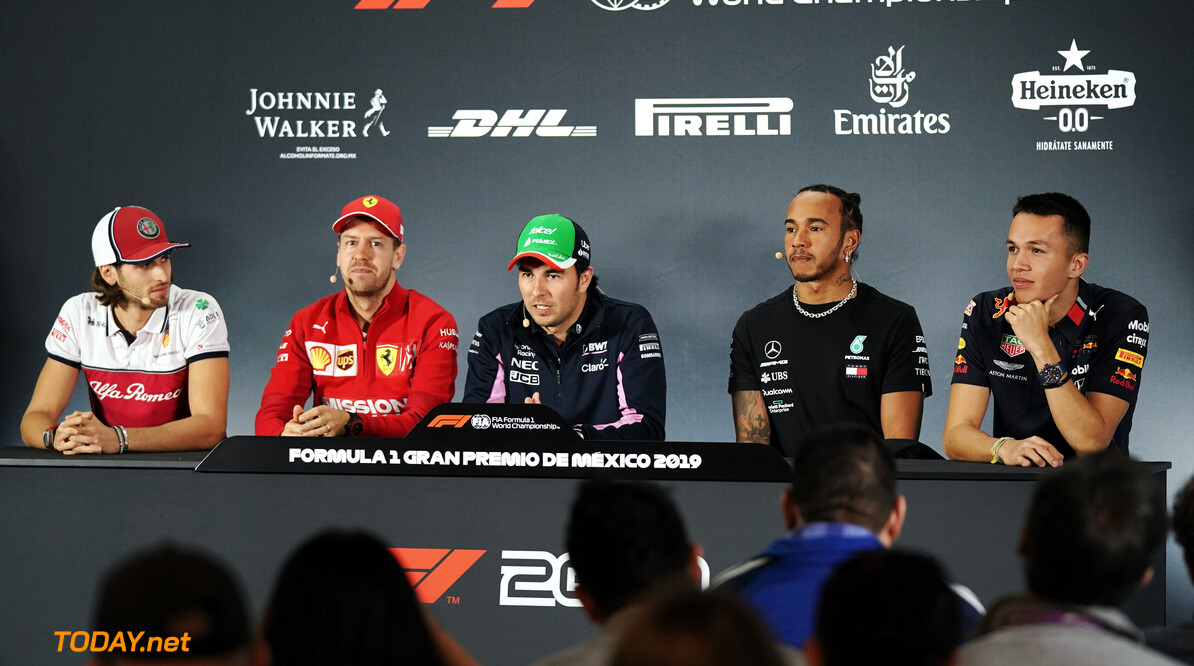 Press conference schedule for 2019 US Grand Prix