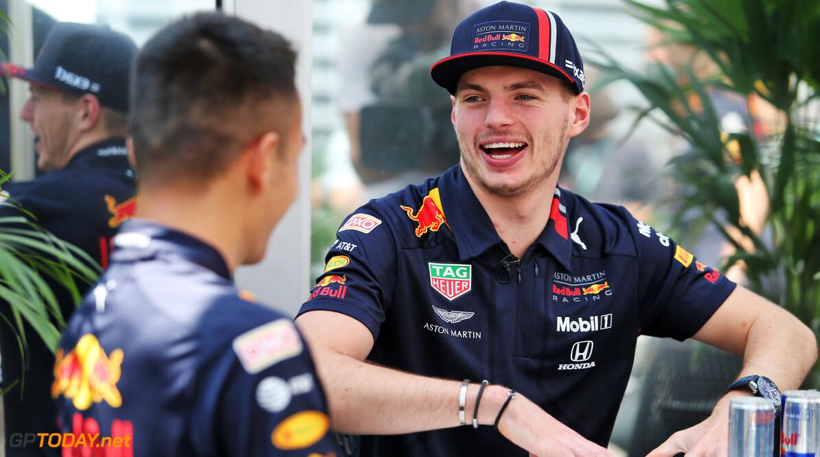 """Max Verstappen: """"Behouden Albon voor 2020 verstandige keuze van Red Bull"""""""