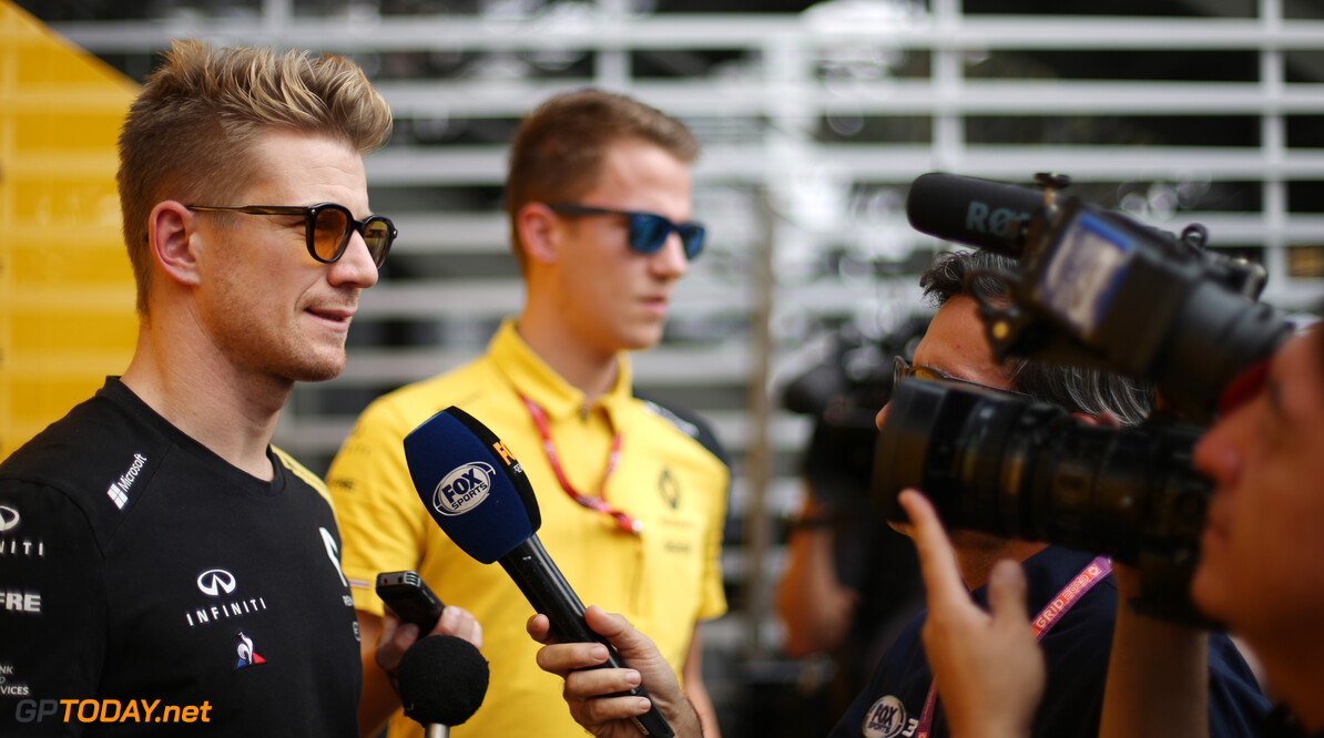 Formula One World Championship Nico Hulkenberg (GER), Renault Sport F1 Team  24.10.2019. Formula 1 World Championship, Rd 18, Mexican Grand Prix, Mexico City, Mexico, Preparation Day. - www.xpbimages.com, EMail: requests@xpbimages.com (C) Copyright: Charniaux / XPB Images Motor Racing - Formula One World Championship - Mexican Grand Prix - Preparation Day - Mexico City, Mexico XPB Images Mexico City Mexico  Formel1 Formel F1 Formula 1 Formula1 GP Grand Prix Thursday Portrait October Mexico Mexico City Mexican Autodromo Hermanos 24 10 2019
