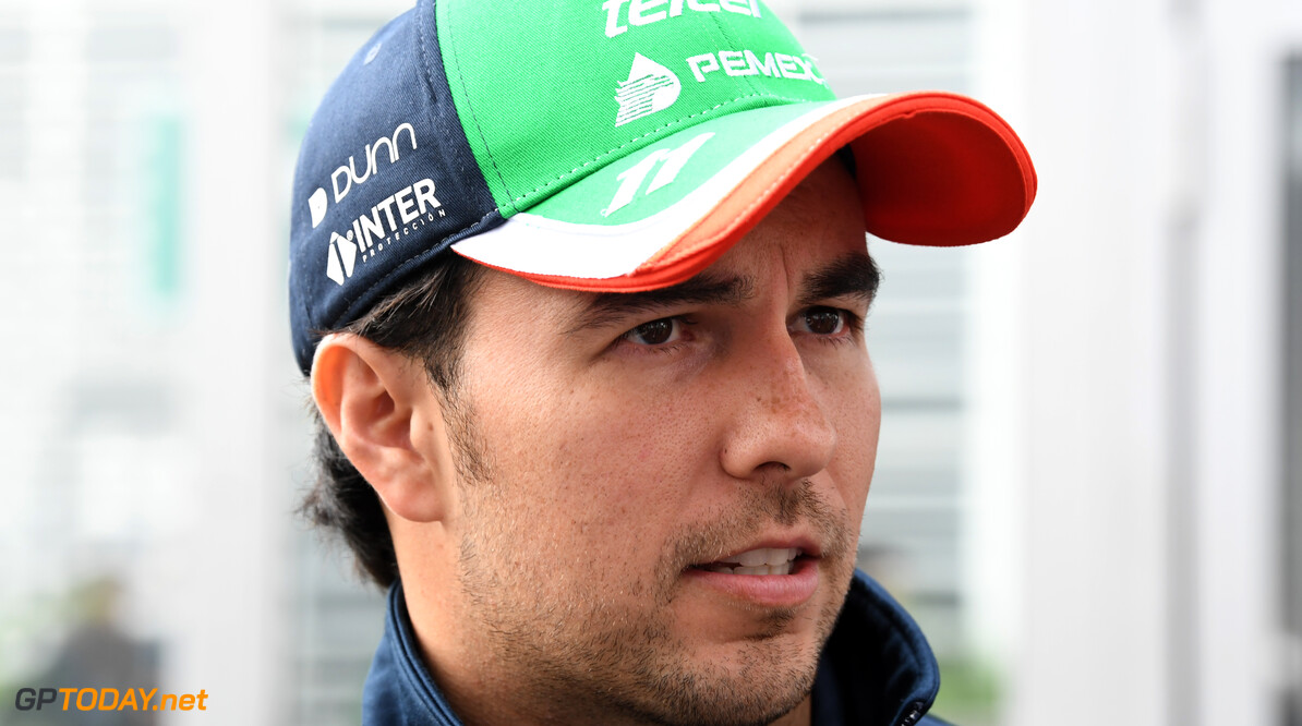 Sergio Perez, Racing Point   Mark Sutton    track portrait GP19018a GP19018a_M F1 GP Mexico Mexican Autodromo-Hermanos-Rodriguez