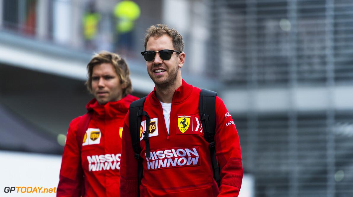 RUDY CAREZZEVOLI@CALLO ALBANESE    24/10/2019 F1/2019 GP MESSICO VETTEL