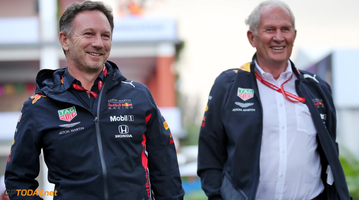 'Marko en Horner in Oostenrijk voor toestemming overname Honda-motoren'
