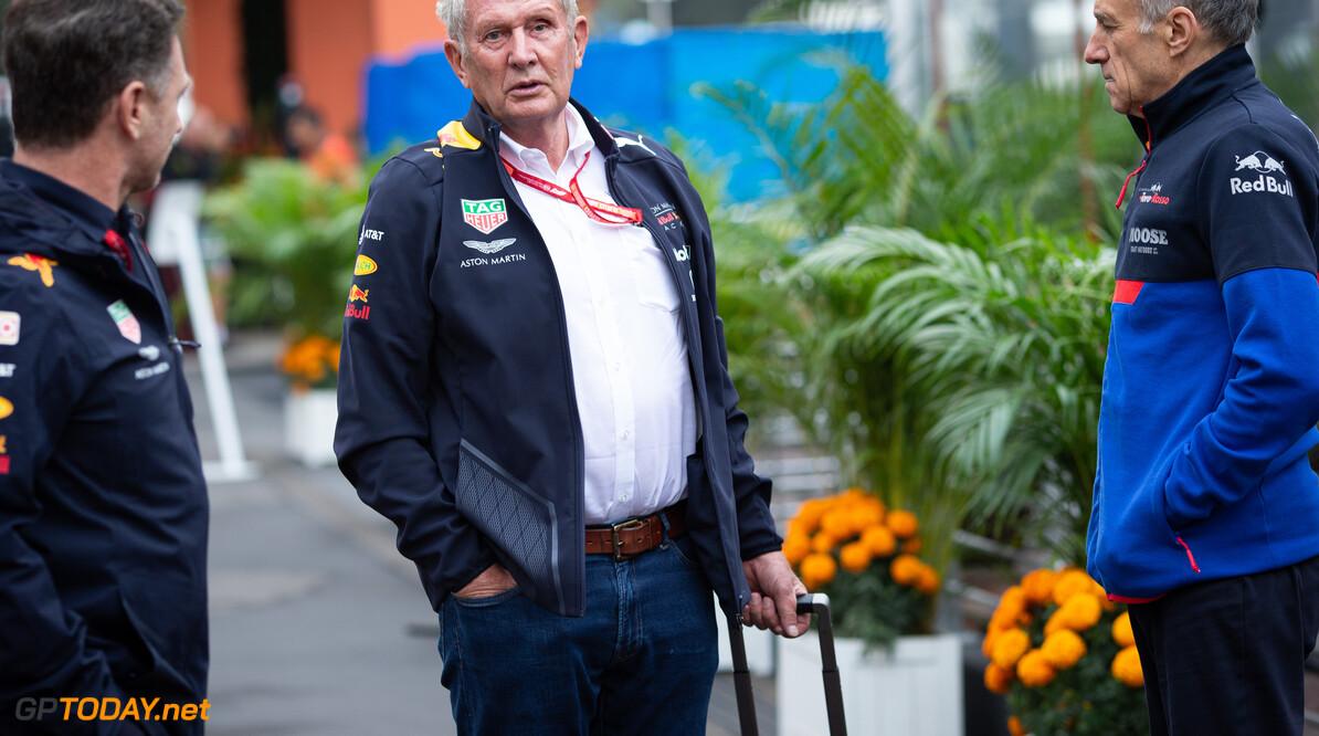 """Helmut Marko vol vertrouwen: """"Red Bull kan de laatste races van 2019 winnen"""""""