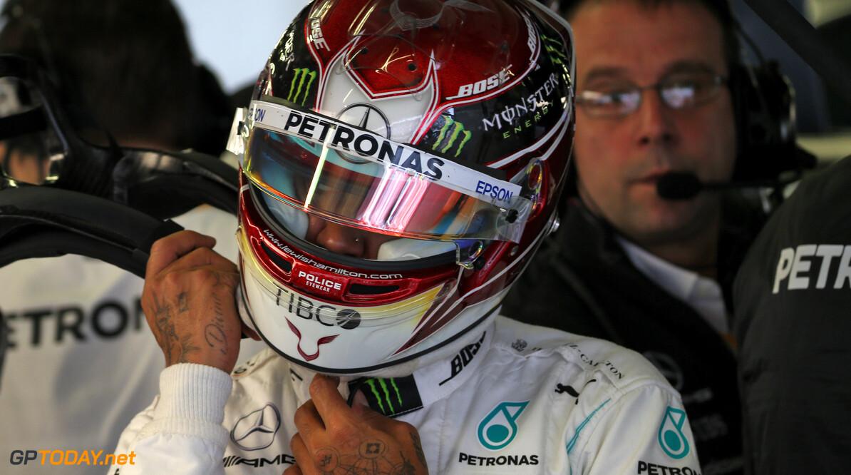 Hamilton verwacht 'drie of vier pitstops' in Mexico door agressieve bandenslijtage