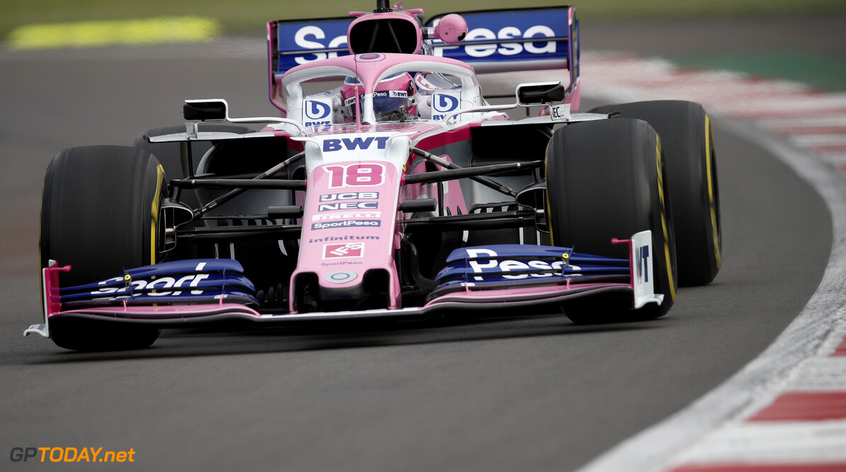 Lance Stroll, Racing Point RP19   Joe Portlock    FP1 Practice GP19018b GP19018b_M F1 GP Mexico Mexican Autodromo-Hermanos-Rodriguez